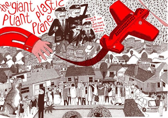 The Giant Pliant Plastic Plane: David Ryan Robinson
