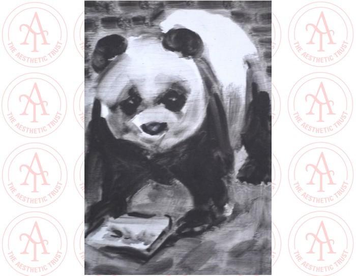 Alli Sharma: Panda Postcard